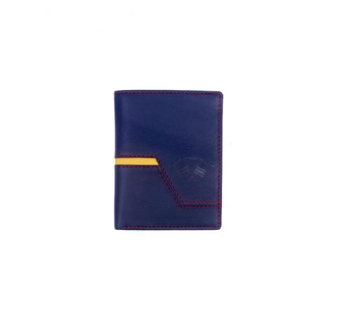 Spagnolo hombre cartera corte diagonal 1809 marino - Imagen 1