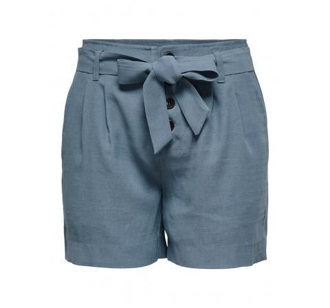 Only onlviva-emery hw belt shorts pnt celeste - Imagen 1