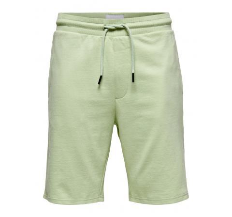 Only & sons onsbrysen reg sweat shorts verde agua - Imagen 1
