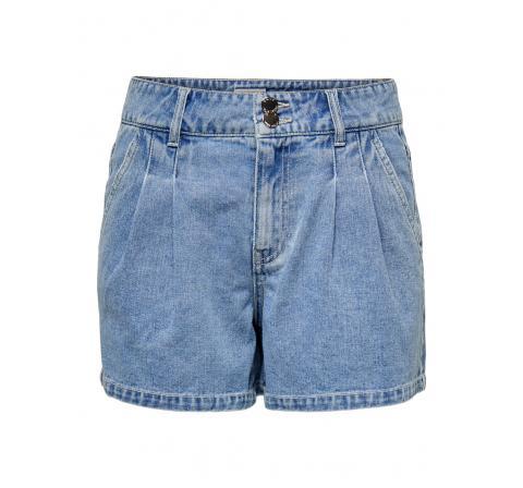 Only onldebbie life hw dnm chino shorts bj denim medio - Imagen 1