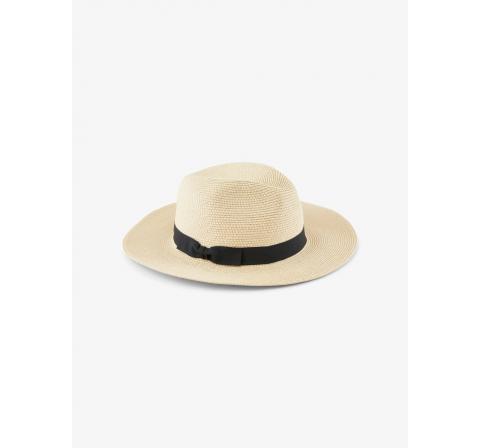 Pieces pcnynni straw hat marron - Imagen 1