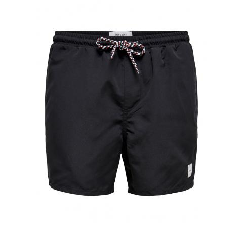 Only & sons onsted swim gw 9092 negro - Imagen 1