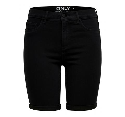 Only noos onlrain life mid long shorts noos negro - Imagen 1