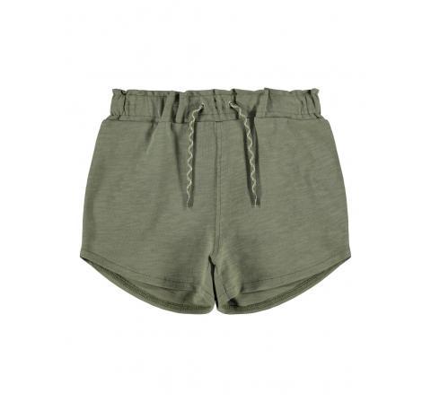 Name it kids niÑa nkfhadig sweat shorts unb verde - Imagen 1