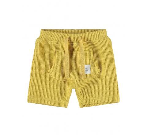 Name it baby niÑo nbmhardy sweat shorts unb mostaza - Imagen 1