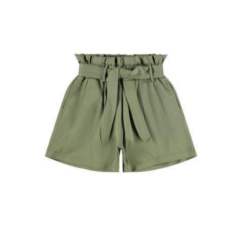 Name it kids niÑa nkfhacle ida shorts verde - Imagen 1