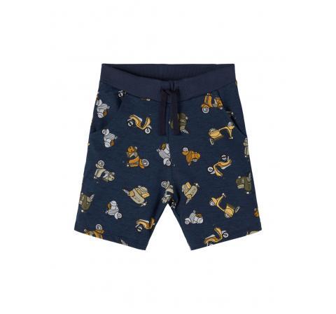 Name it mini niÑo nmmhadden light sweat long shorts unb marino - Imagen 1