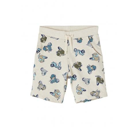 Name it mini niÑo nmmhadden light sweat long shorts unb beige - Imagen 4