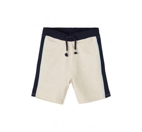 Name it mini niÑo nmmhaner light sweat long shorts unb beige - Imagen 1