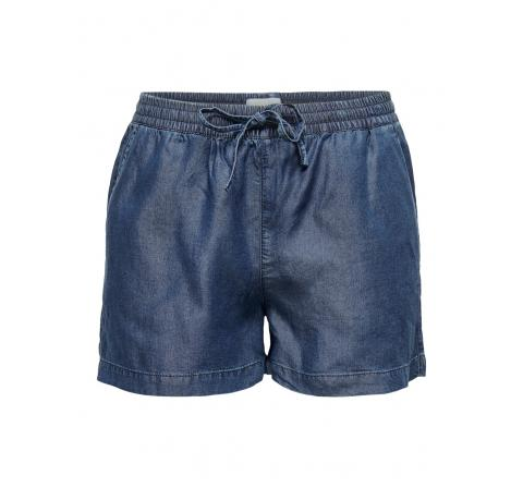 Only noos onlpema lyocell life dnm  shorts box denim oscuro - Imagen 1