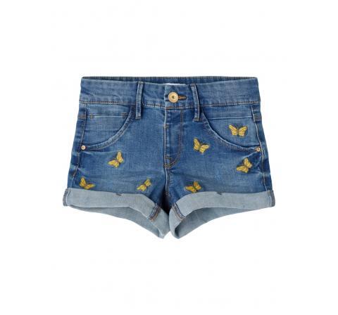 Name it mini niÑa nmfrandi dnmatasis 2517 shorts denim medio - Imagen 1