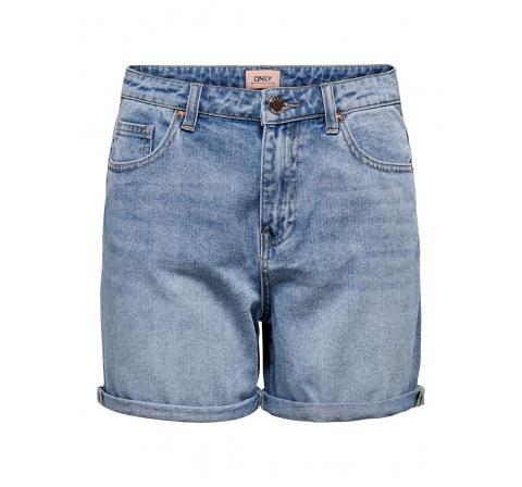 Only noos onlphine life shorts mas0001 noos denim claro - Imagen 1