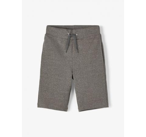Name it kids niÑo nkmfesto sweat long shorts gris - Imagen 1