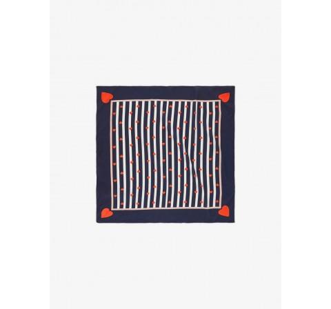 Pieces pcnada small square scarf marino - Imagen 1