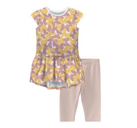 Name it mini niÑa nmfvilone capsl dress set h blanco - Imagen 1