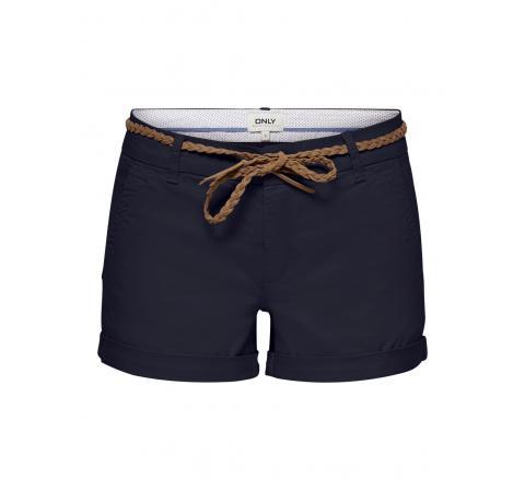 Only noos onlevelyn life reg chino shorts pnt marino - Imagen 1