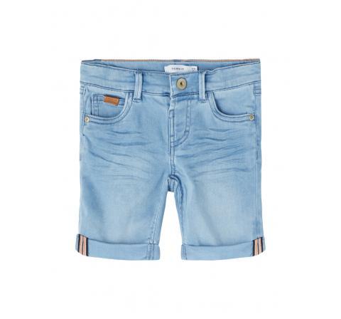 Name it mini niÑo nmmsofus dnmatoras 1502 long shorts denim claro - Imagen 1
