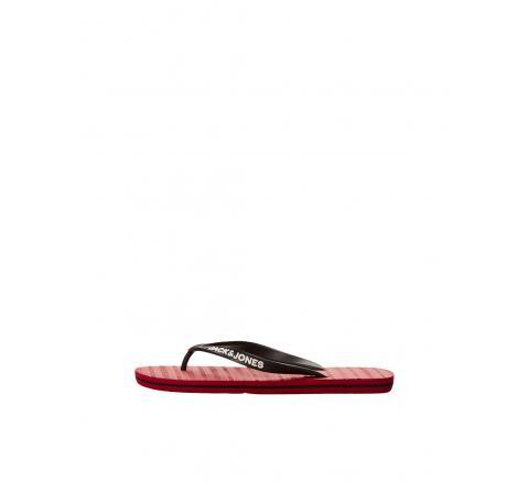 Jack&jones footwear jfwbasic pop flip flop pack rojo - Imagen 1