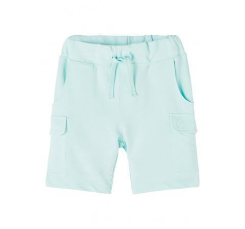Name it mini niÑo nmmhajan light sweat long shorts unb celeste - Imagen 1